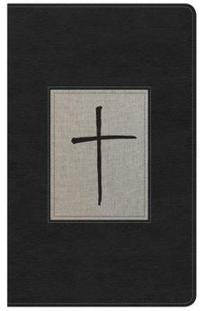 KJV Ultrathin Reference Bible, Black/Gray Deluxe LeatherTouch 9781433649813