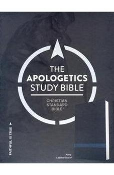CSB Apologetics Study Bible, Navy LeatherTouch 9781433651212