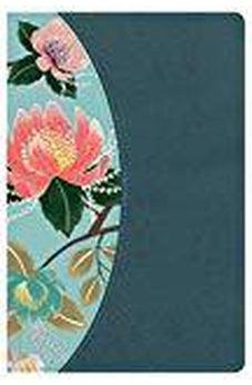 CSB Study Bible For Women, Teal Flowers LeatherTouch, Indexed 9781433651304