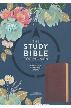 The CSB Study Bible For Women, Chocolate LeatherTouch 9781433651311