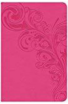 CSB Compact Ultrathin Bible, Pink LeatherTouch, Indexed 9781433651380