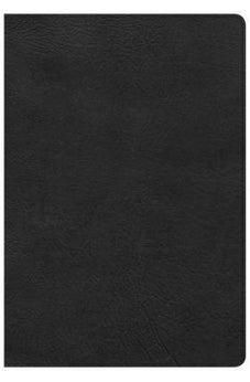 CSB Super Giant Print Reference Bible, Black LeatherTouch 9781433651588
