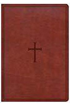 CSB Super Giant Print Reference Bible, Brown LeatherTouch 9781433651601