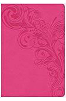 CSB Super Giant Print Reference Bible, Pink LeatherTouch 9781433651649