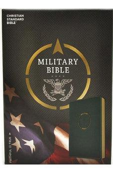 CSB Military Bible, Green LeatherTouch 9781433651762