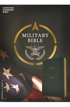CSB Military Bible, Navy Blue LeatherTouch 9781433651779