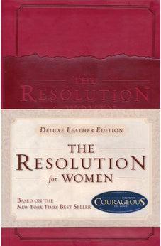 The Resolution for Women, LeatherTouch 9781433685026