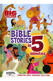 Image of Bible Stories in 5 minutes 9781433685293