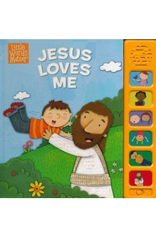 Image of Jesus Loves Me, Sound Book (Little Words Matter(TM)) 9781433686757