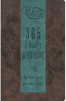 Teen to Teen: 365 Daily Devotions by Teen Girls for Teen Girls 9781433687822