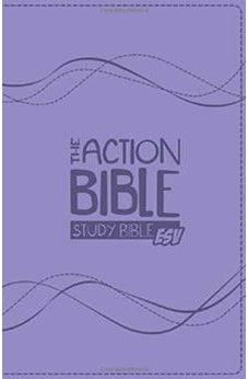 The Action Bible Study Bible ESV (Lavender) 9781434709080