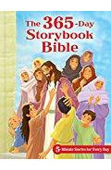 The 365-Day Storybook Bible, Padded: 5-Minute Stories for Every Day 9781462742288