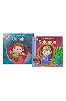 Solomon/Jonah Flip-Over Book (Little Bible HeroesTM) 9781462743377