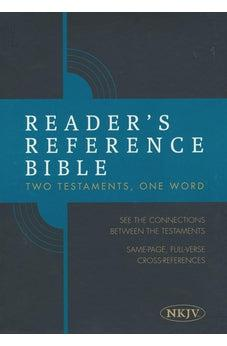 Reader's Reference Bible: NKJV Edition, Tan Cloth Over Board, Indexed 9781462746866