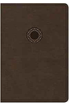 NKJV Deluxe Gift Bible, Brown/Tan LeatherTouch 9781462747559