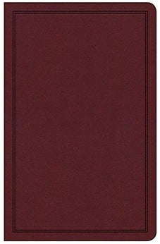 CSB Deluxe Gift Bible, Burgundy LeatherTouch 9781462749317