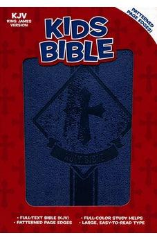 KJV Kids Bible, Royal Blue LeatherTouch 9781462762293