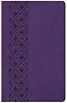 KJV Ultrathin Reference Bible, Value Edition, Purple LeatherTouch 9781462766192
