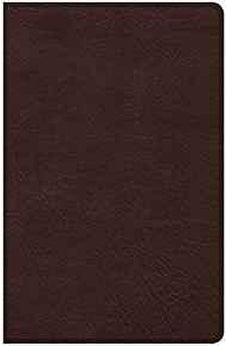 CSB Ultrathin Bible, Brown LeatherTouch 9781462779321