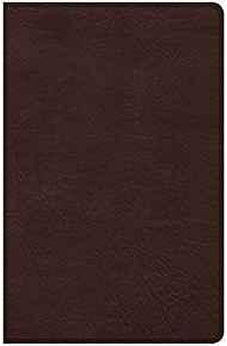 CSB Ultrathin Bible, Brown LeatherTouch, Indexed 9781462779338