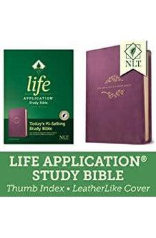 NLT Life Application Study Bible, Third Edition 2019 Purple Leatherlike Indexed