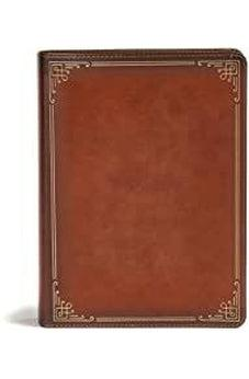 CSB Ancient Faith Study Bible, Tan LeatherTouch