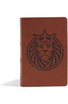 CSB Kids Bible, Lion LeatherTouch 9781535965774