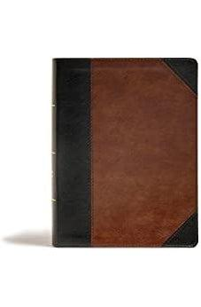 CSB Tony Evans Study Bible, Black/Brown LeatherTouch 9781535971133