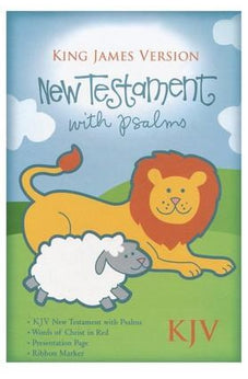 KJV Baby's New Testament - Blue 9781558190436