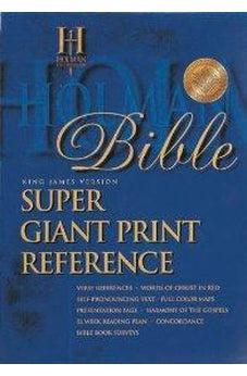 Holy Bible: King James Version, Reference Bible, Burgundy Imitation super giant print 9781558196384