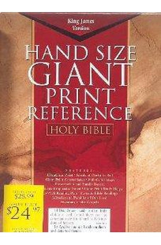 KJV Giant Print Reference Bible 9781558198128