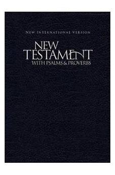 NIV, New Testament with Psalms and Proverbs, Paperback, Blue 9781563206627