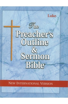 Preacher's Outline & Sermon Bible-NIV-Luke 9781574070798