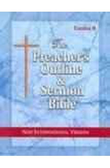 Image of Preacher's Outline & Sermon Bible-NIV-Exodus 2: Chapters 19-50 9781574070941