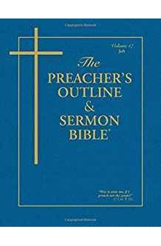 Image of The Preacher's Outline & Sermon Bible: Job 9781574072457