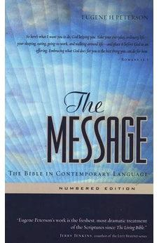 Image of The Message: The Bible in Contemporary Language 9781576839164
