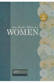 HCSB The Study Bible for Women, Teal/Sage LeatherTouch 9781586400873