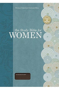 The Study Bible for Women, Chocolate Genuine Leather 9781586400927