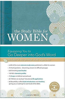 HCSB The Study Bible for Women, Hardcover 9781586400989