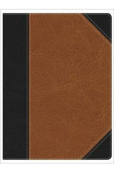 Holman Study Bible: NKJV Edition, Black/Tan LeatherTouch Indexed 9781586409197