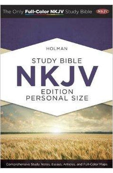 Holman Study Bible: NKJV Edition, Personal Size Hardcover 9781586409203