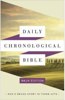 NKJV Edition Daily Chronological Bible, Hardcover 9781586409401
