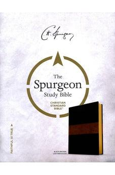 CSB Spurgeon Study Bible, Black/Brown LeatherTouch 9781586409722