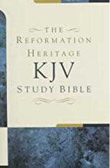 KJV Study Bible The Reformation Heritage  (Hardcover)