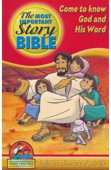 Image of Most Important Story Bible- English 9781608340439