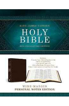 KJV Holy Bible: Wide-Margin Personal Notes Edition