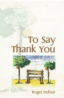 Image of To say Thank You 9781868524570