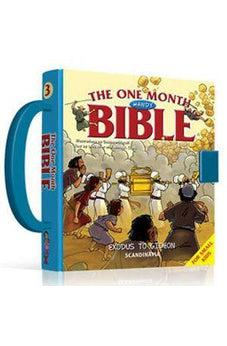 One Month Handy Bible-30 Bible Stories- Ten Commandments- Tabernacle-Bible Story Book for Children-Tabernacle-Miriam-The law-Bible Stories for Girls ... hard Cover Board book with Handle and Lock 9788771325485