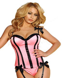 C173 Ladies Sexy Bustier with underwire