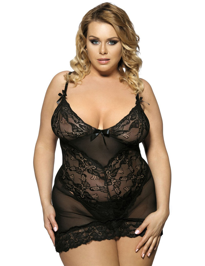 R70218P Lace Sexy fitted dress